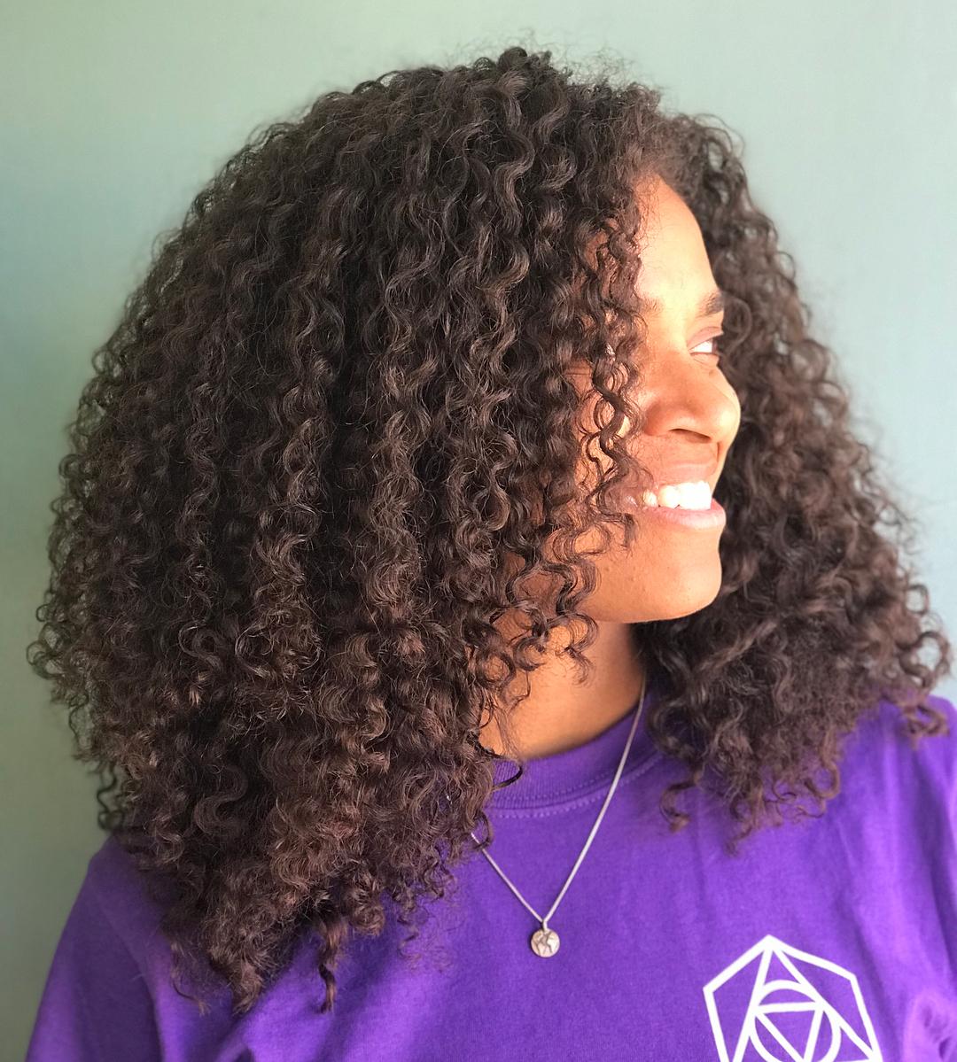 Long Natural Layered Hairstyle