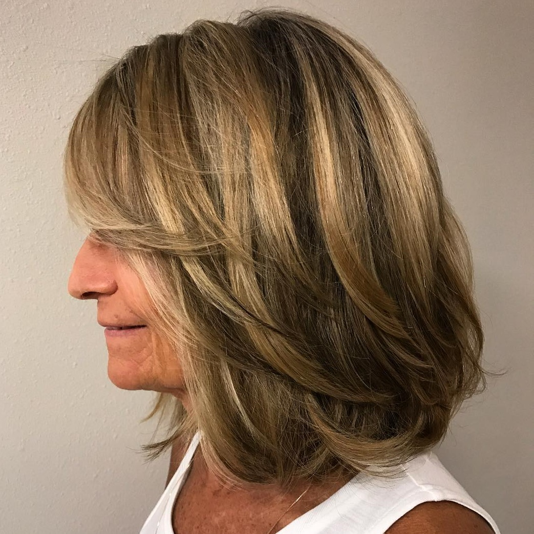 Shoulder Length Thick Hair Short Layered Haircuts 94