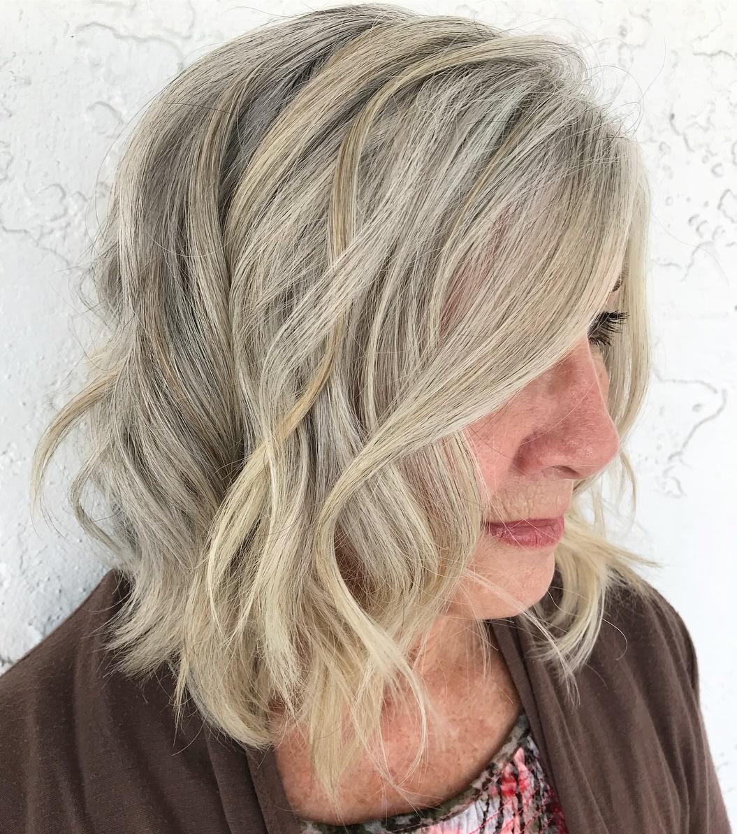 Over Gray Hair Color Idea