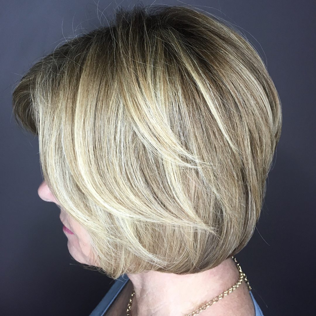 Layered Hairstyles For Women Over 50 83