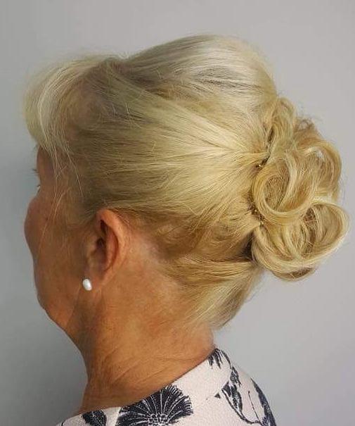Updo For Older Ladies