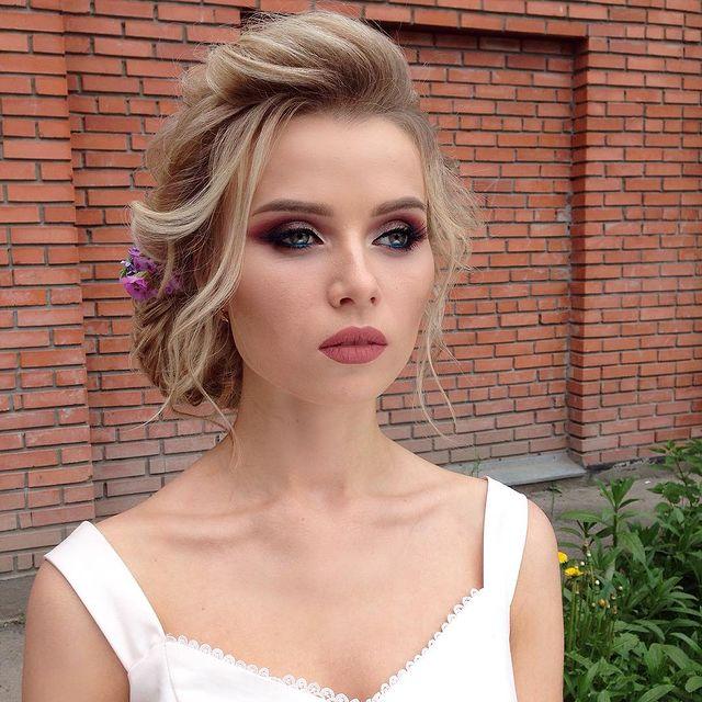 bohemian wedding makeup