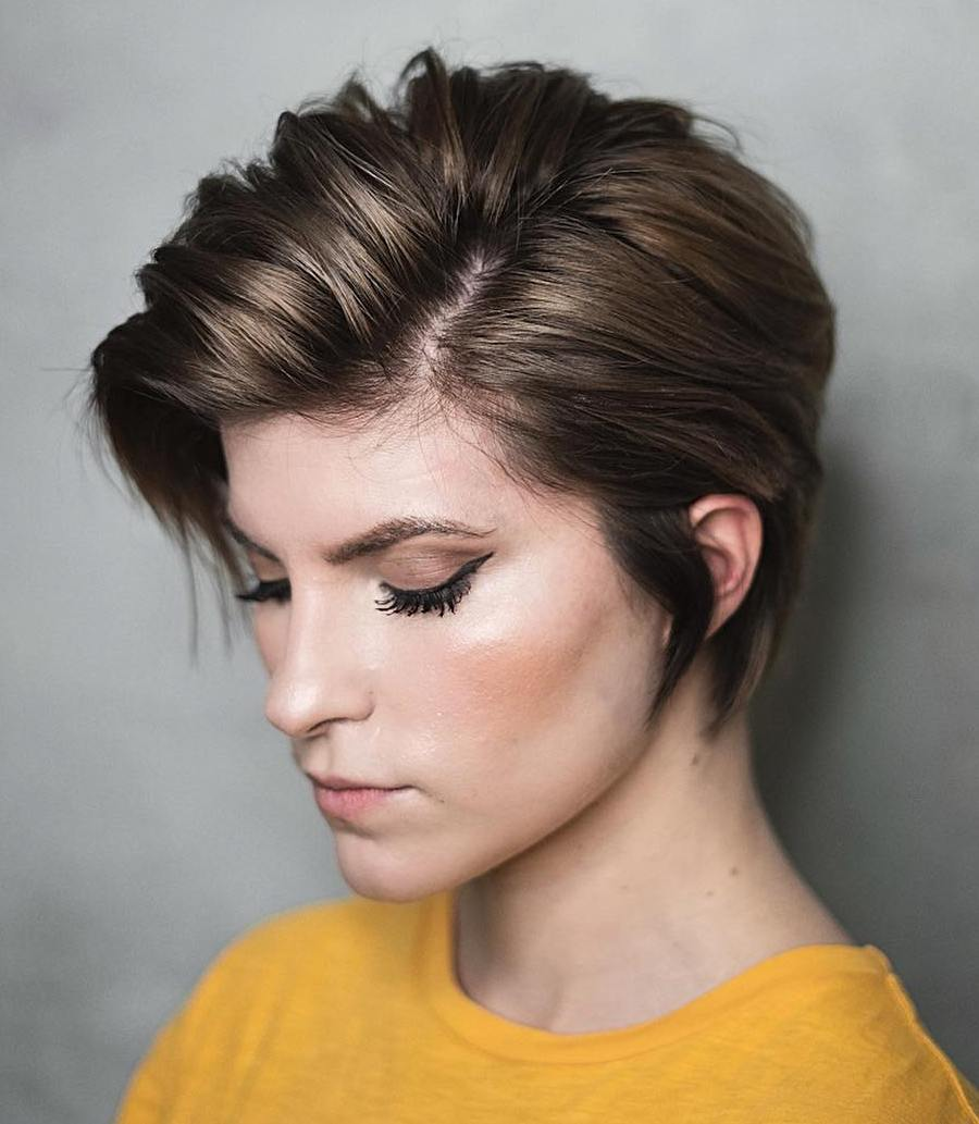 25 Ways To Pull Off A Long Pixie Cut