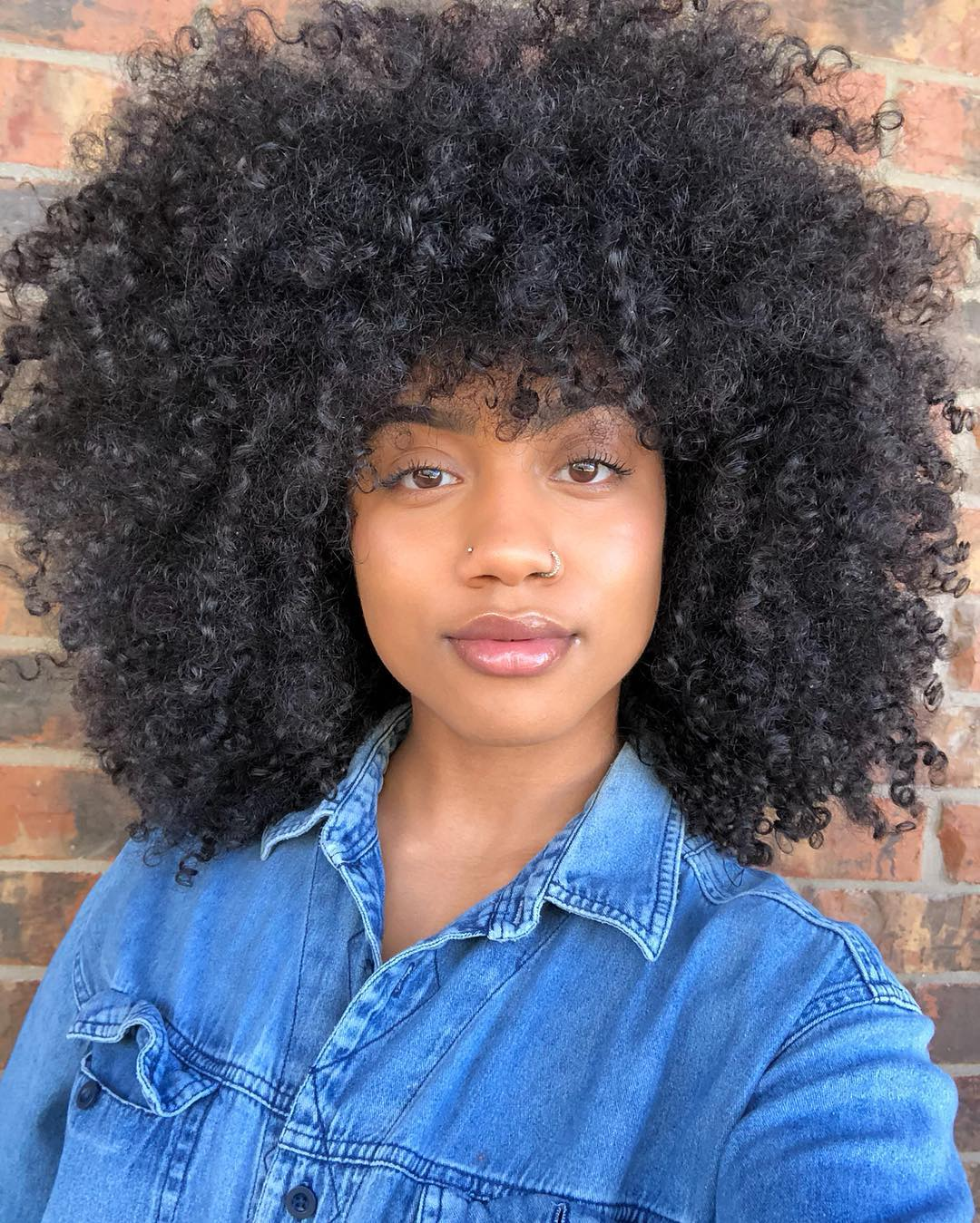 45 Classy Natural Hairstyles for Black Girls to Turn Heads ...