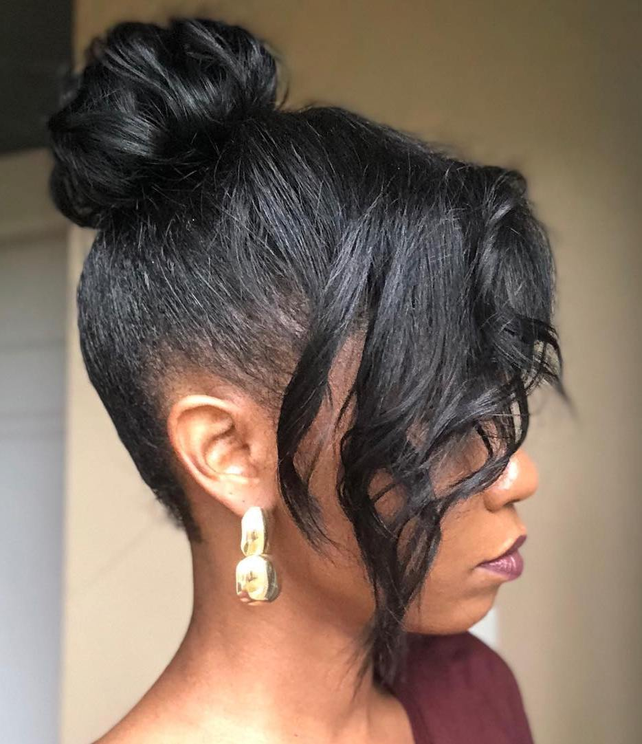 45 Classy Natural Hairstyles For Black Girls To Turn Heads In 2021