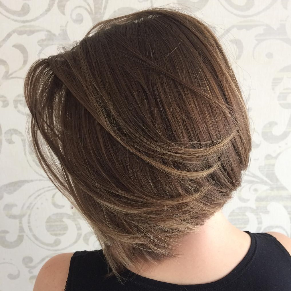 Feathered Bob For Straight Hair