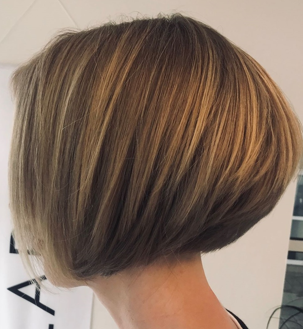 Jaw-Length Bob For Thick Hair