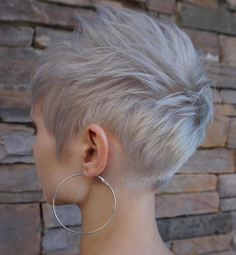 Spiky Pixie For Fine Hair
