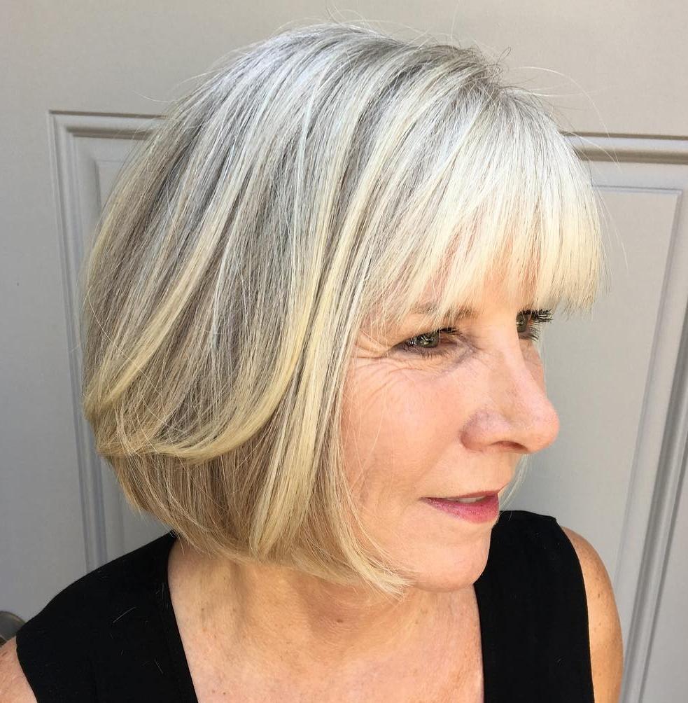 Bob For Gray Hair Over 60