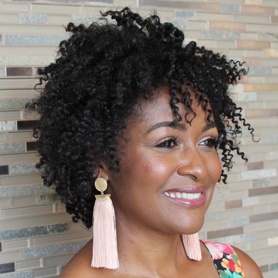 African American Medium Layered Cut