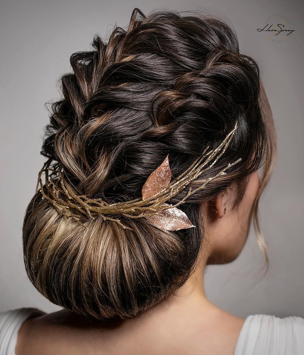 30 Picture Perfect Updos For Long Hair Everyone Will Adore In 2020
