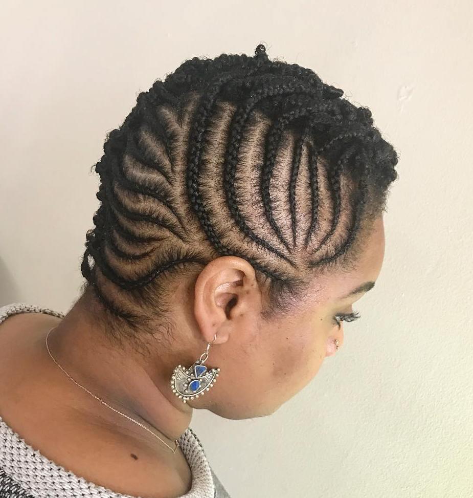 Creative Cornrows For Short Natural Hair